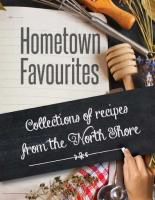 Hometown Favourites Cookbook